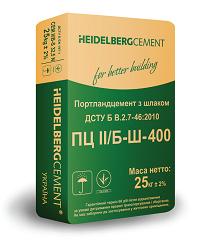 Цемент ПЦ-400 Кр. Рог 25 кг (Heidelberg)
